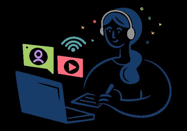 Perluas wawasan dengan<br>platform belajar terbaik